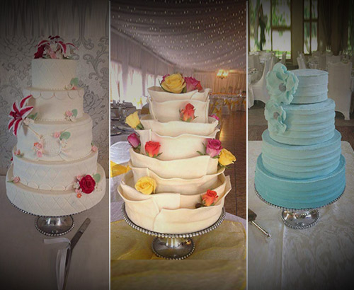 Wedding Cakes by SugarBear